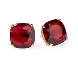 Kate Spade Red Square Studs